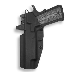 "1911 5"" Government With Rail Only RDS Red Dot Optic Cut IWB KYDEX Concealed Carry Holster"