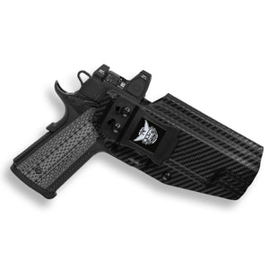"Kimber 1911 5"" With Rail Only RDS Red Dot Optic Cut IWB Holster"