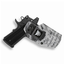 "Springfield 1911 4"" With Rail Only RDS Red Dot Optic Cut IWB Holster"