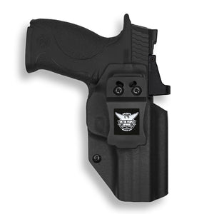 "Smith & Wesson M&P / M2.0 4.25"" / M2.0 4"" Compact 9/40 Pro RDS Red Dot Optic Cut IWB KYDEX Concealed Carry Holster"