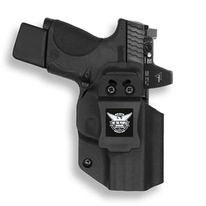 "Smith & Wesson M&P 9C/40C / M2.0 3.5""/3.6"" Compact Pro RDS Red Dot Optic Cut IWB KYDEX Concealed Carry Holster"