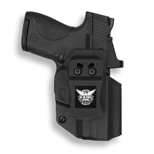 Smith & Wesson M&P Shield / M2.0 9mm/.40 Pro RDS Red Dot Optic Cut IWB Kydex Concealed Carry Holster