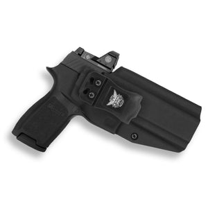 Sig Sauer P320 Full Size RDS Red Dot Optic Cut IWB Holster