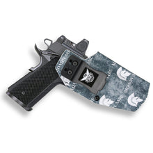 "1911 5"" Government No Rail Only RDS Red Dot Optic Cut IWB KYDEX Concealed Carry Holster"