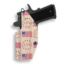 "1911 4"" Commander No Rail Only RDS Red Dot Optic Cut IWB KYDEX Concealed Carry Holster"