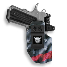 "1911 3.25"" Defender No Rail Only RDS Red Dot Optic Cut IWB KYDEX Concealed Carry Holster"
