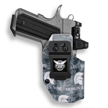 "1911 3.25"" Defender No Rail Only RDS Red Dot Optic Cut IWB Holster"