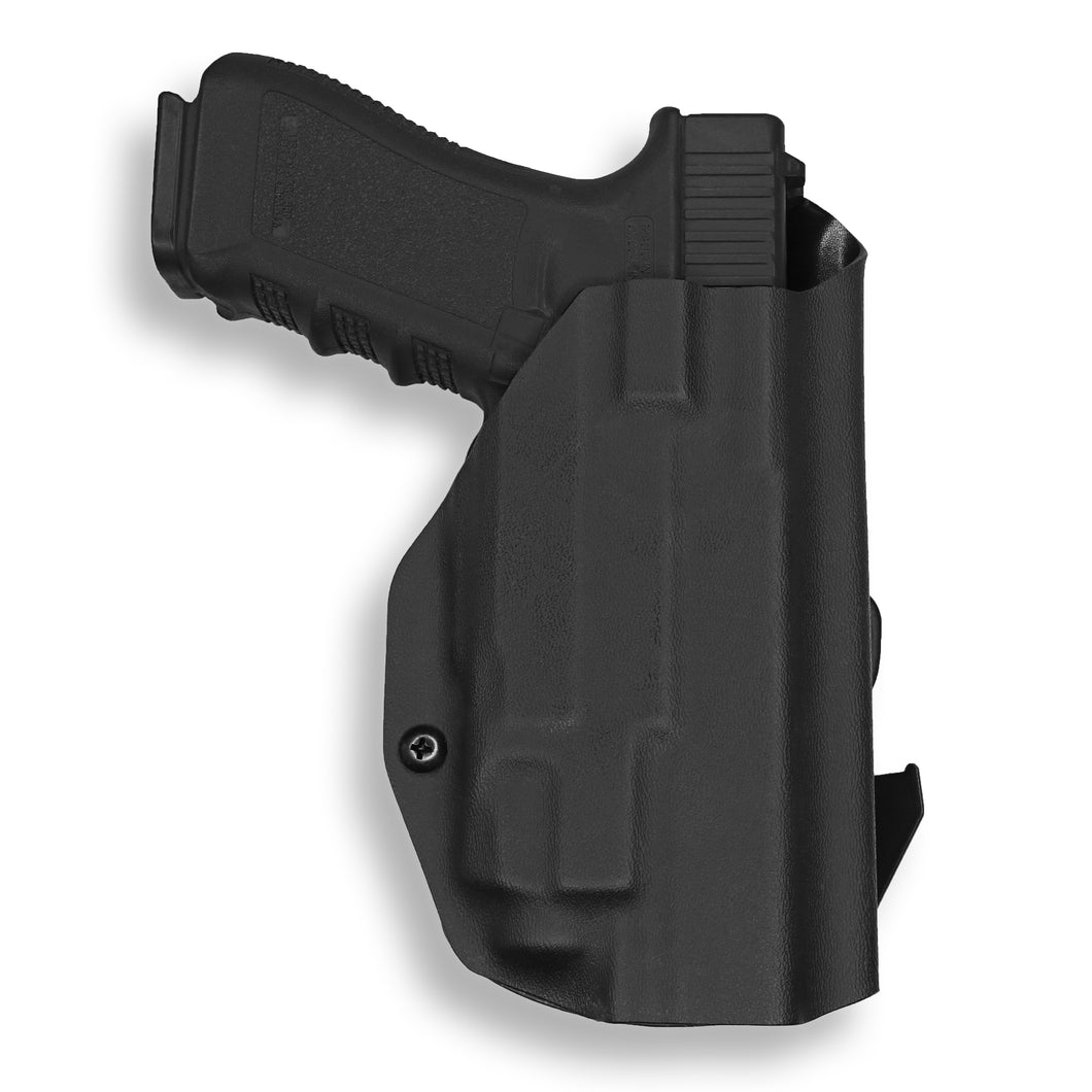 Glock 17 22 31 Gen 3-4-5 with Streamlight TLR-7 Light OWB KYDEX Concealed Carry Holster