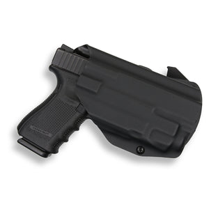 Glock 45 with Streamlight TLR-7 Light OWB Holster