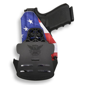 Glock 32 with Streamlight TLR-7 Light OWB Holster