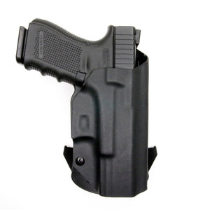 Glock 19 23 32 45 19X Gen 3-4-5 OWB Kydex Concealed Carry Holster