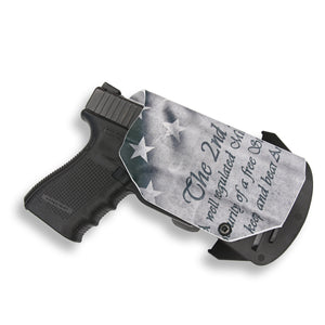 Sig Sauer P938 Micro 9MM/22LR with Streamlight TLR-6 Light/Laser OWB Concealed Carry Holster