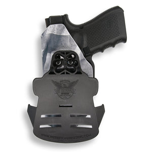 "1911 4"" Commander No Rail Only RDS Red Dot Optic Cut OWB Holster"