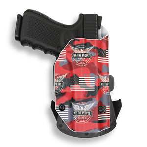 "Kimber 1911 4"" No Rail Only OWB Holster"