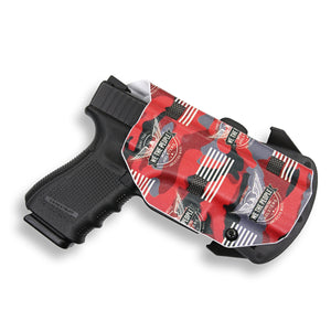 Smith & Wesson M&P 9C/40C / M2.0 with Manual Safety Pro RDS Red Dot Optic Cut OWB KYDEX Concealed Carry Holster