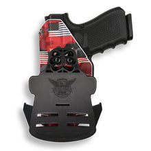 "Colt 1911 4"" Commander No Rail Only RDS Red Dot Optic Cut OWB Holster"