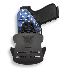Smith & Wesson M&P Shield / M2.0 Crimson Trace LG-489 Laser 9mm/.40 KYDEX OWB Concealed Carry Holster