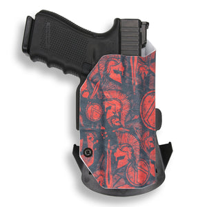 "Springfield 1911 5"" With Rail Only RDS Red Dot Optic Cut OWB Holster"