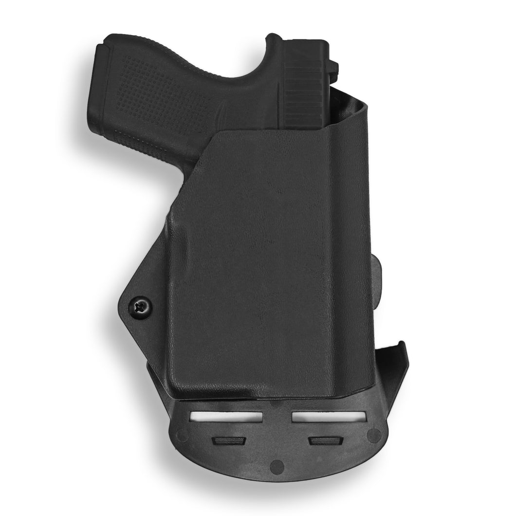 Glock 42 with Streamlight TLR-6 Light/Laser OWB KYDEX  Concealed Carry Holster