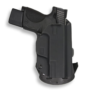 "Smith & Wesson M&P 9C/40C / M2.0 3.5""/3.6"" Compact Manual Safety OWB Holster"