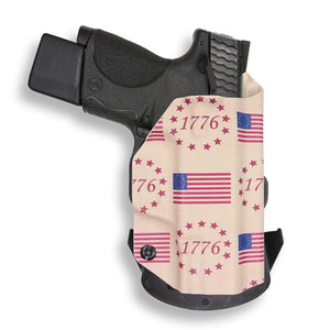 "Smith & Wesson M&P 9C/40C / M2.0 3.5""/3.6"" Compact Manual Safety OWB KYDEX Concealed Carry Holster"
