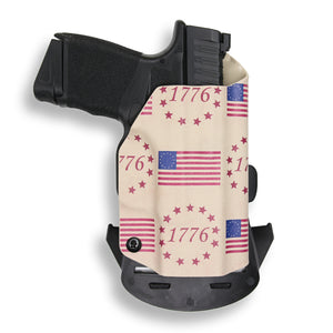 "Springfield Hellcat 3"" Micro-Compact 9mm OWB KYDEX Concealed Carry Holster"