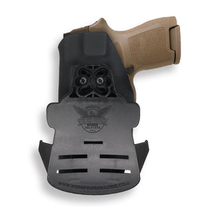 Sig Sauer P320SC with Manual Safety OWB Holster