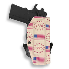 "1911 5"" Government With Rail Only OWB Concealed Carry Kydex Holster"