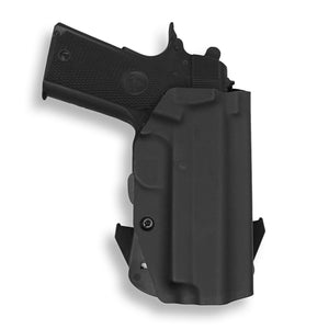 "1911 4"" Commander With Rail Only OWB Holster"