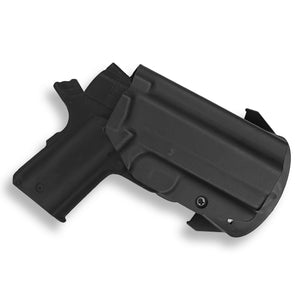 "1911 3.25"" Defender With Rail Only OWB Holster"