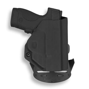 Smith & Wesson M&P Shield / M1.0 M2.0 Crimson Trace LG-489 Laser 9mm/.40 KYDEX OWB Concealed Carry Holster