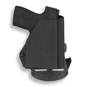 Smith & Wesson M&P Shield / M1.0 M2.0 9mm/.40 with Streamlight TLR-6 Light/Laser OWB Kydex Concealed Carry Holster