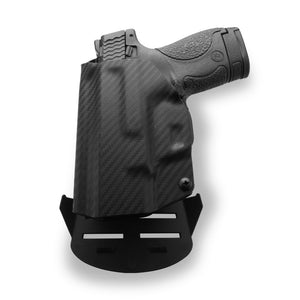 "1911 4"" Commander With Rail Only RDS Red Dot Optic Cut OWB KYDEX Concealed Carry Holster"