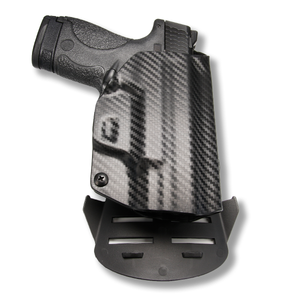 "1911 3.25"" Defender With Rail Only RDS Red Dot Optic Cut OWB KYDEX Concealed Carry Holster"