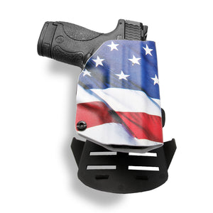 "1911 5"" Government No Rail Only OWB Concealed Carry Kydex Holster"
