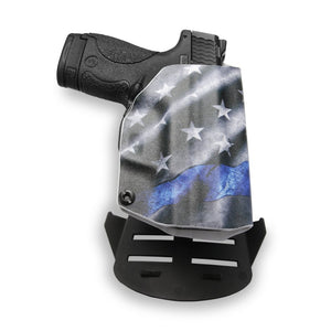 Smith & Wesson M&P 9C/40C with Manual Safety Pro RDS Red Dot Optic Cut OWB KYDEX Concealed Carry Holster