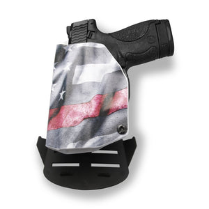 "Springfield XD 4"" Service 9MM/.40SW OWB Concealed Carry Kydex Holster"