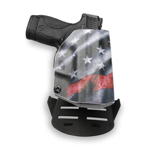 Smith & Wesson M&P Shield / M2.0 with Integrated Crimson Trace Laser 9mm/.40 Kydex Concealed Carry Holster OWB
