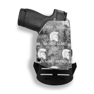 MOLON LABE COME AND TAKE THEM Kydex OWB Paddle holster Custom Designed  Paddle