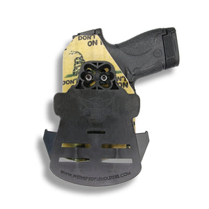 Glock 34 35 MOS Gen 3-4-5 RDS Red Dot Optic Cut OWB KYDEX Concealed Carry Holster