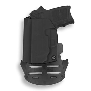 Smith & Wesson M&P Bodyguard 380 with Integrated Crimson Trace Laser KYDEX OWB Concealed Carry Holster
