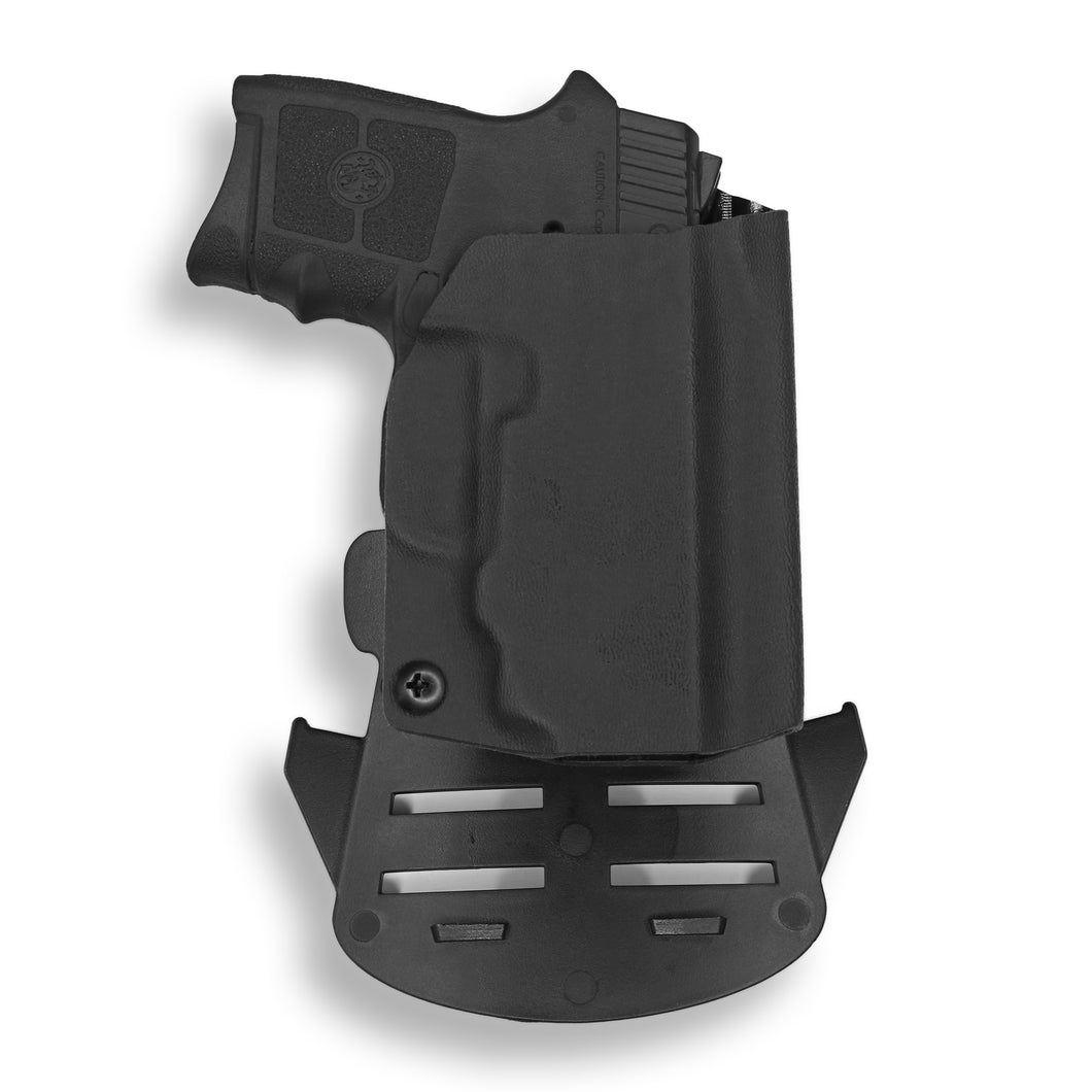 Smith & Wesson M&P Bodyguard 380 with Integrated Crimson Trace Laser OWB Holster
