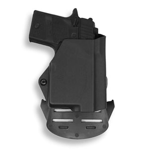 Sig Sauer P938 Micro 9MM/22LR with Streamlight TLR-6 Light/Laser OWB Holster