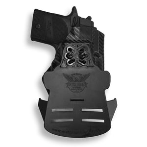 Sig Sauer P938 Micro 9MM/22LR with Streamlight TLR-6 Light/Laser OWB Kydex Concealed Carry Holster