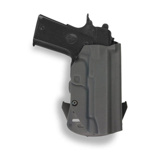 "Springfield 1911 4"" No Rail Only OWB Holster"