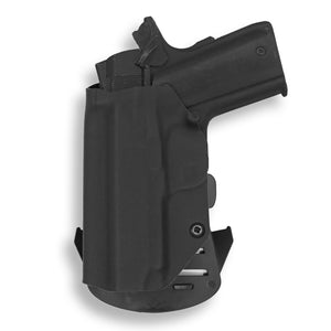 "1911 3.25"" Defender No Rail Only OWB Concealed Carry Kydex Holster"