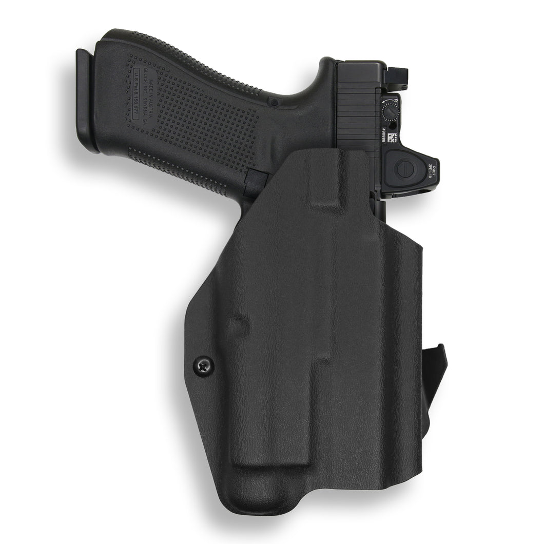 Glock 17 22 31 MOS with Streamlight TLR-1/1S/HL Light RDS Red Dot Optic Cut OWB Holster
