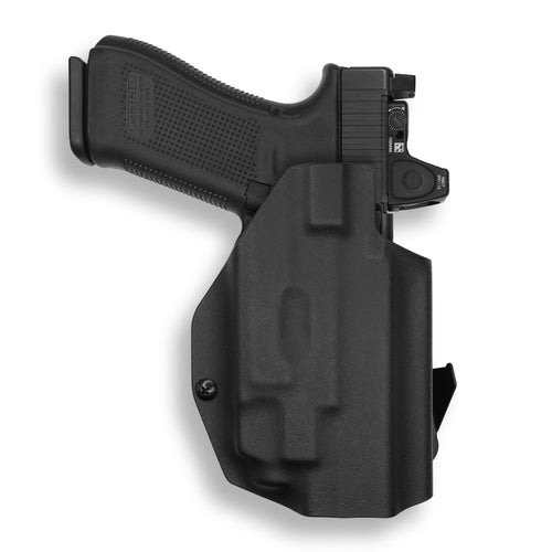Glock 17 22 31 MOS RDS Red Dot Optic With Streamlight TLR-7/7A Light OWB Holster