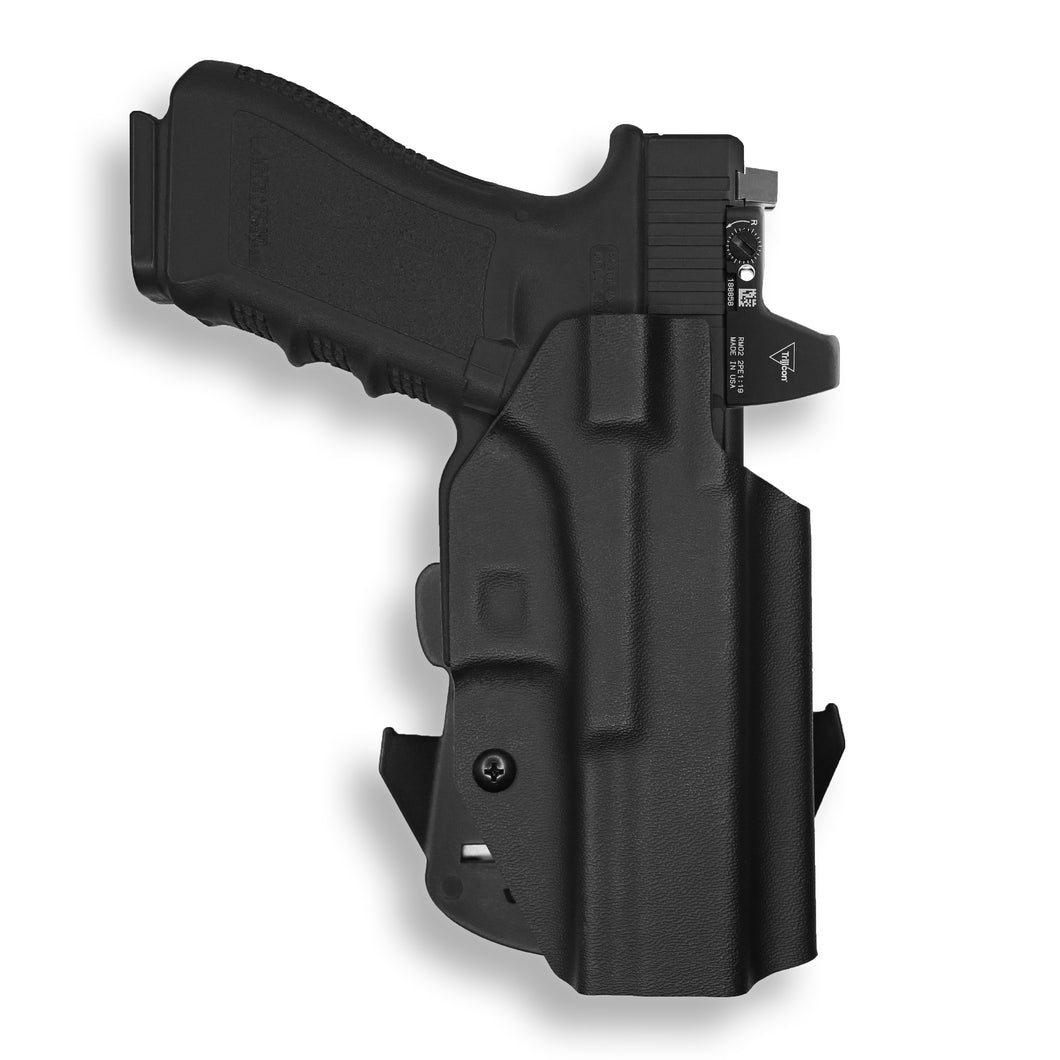 Glock 17 22 31 MOS RDS Red Dot Optic Cut OWB Holster