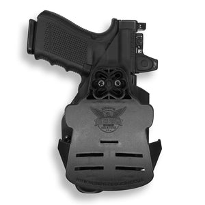 Glock 23 MOS with Streamlight TLR-1/1S/HL Light OWB Holster